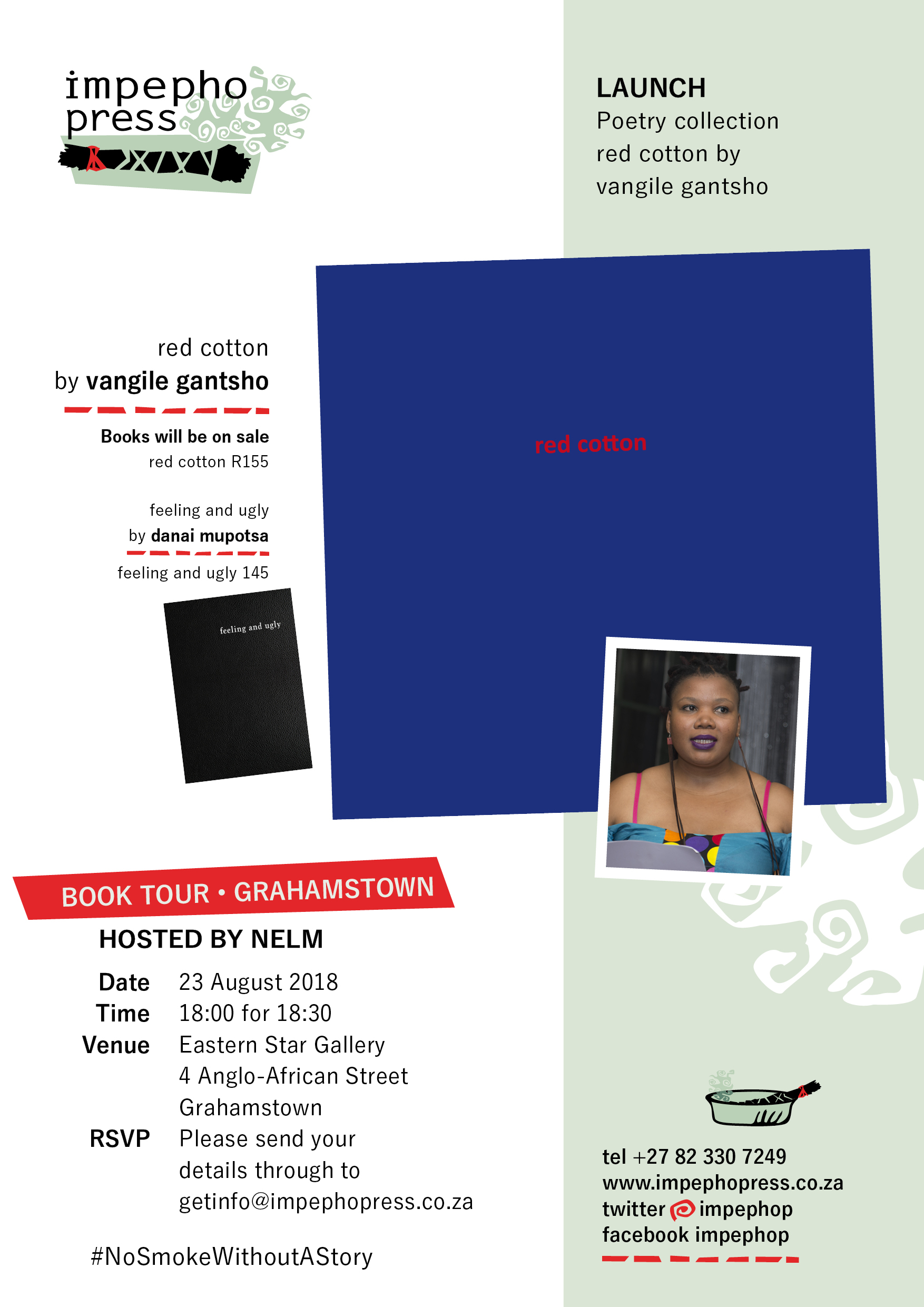 grahamstown, vangile gantsho, red cotton launch, august 2018, eastern star gallery
